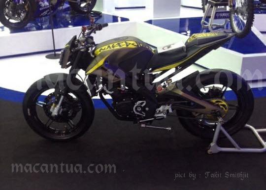 Jika Yamaha Vixion Seperti Ini??? Bisa Jadi Namanya MT15