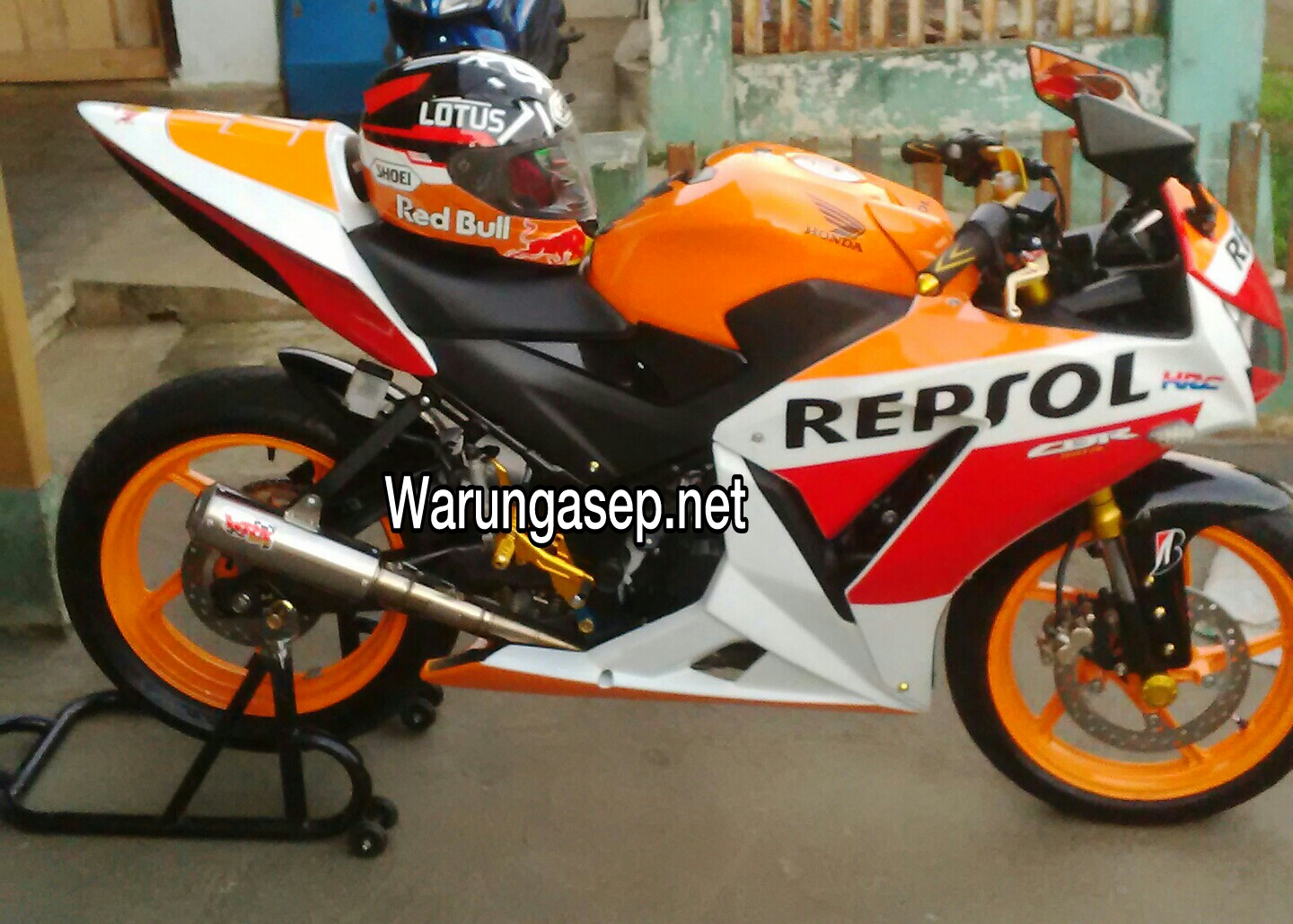 referensi modifikasi cbr 150 new repsol