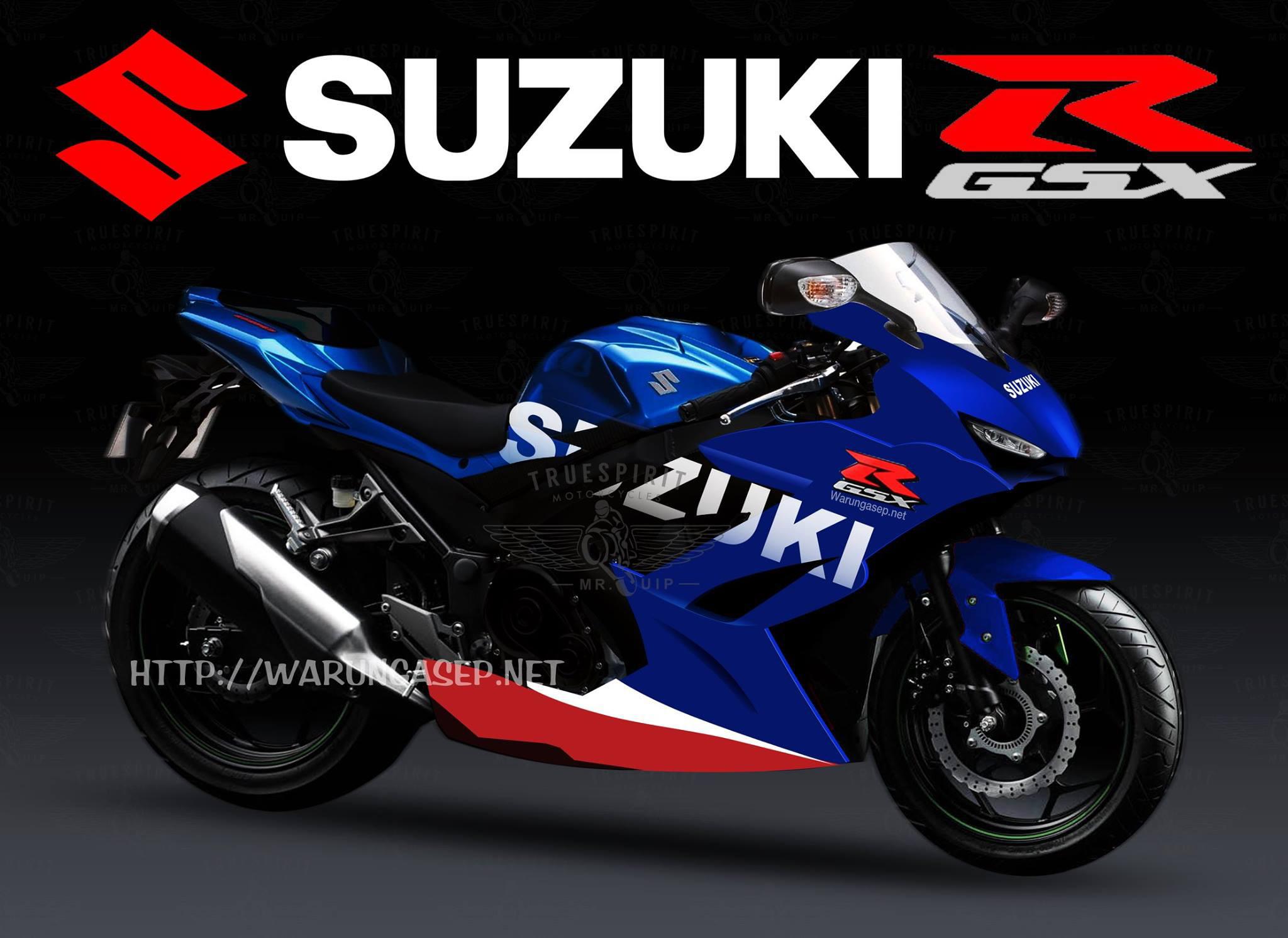 Penampakan Lebih Detail Suzuki Gsx R250 Full Dari Samping Warungasep