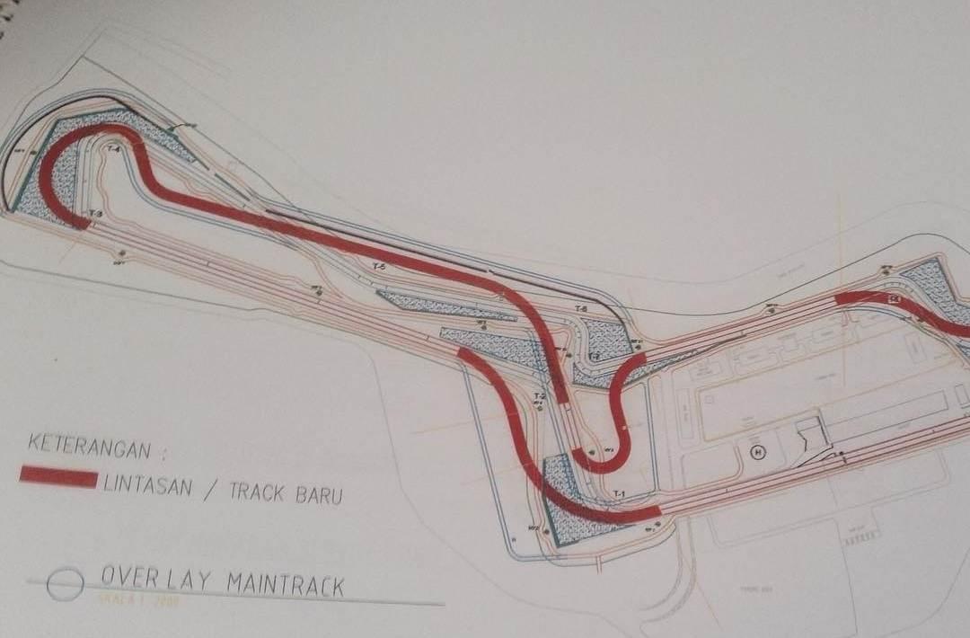 Bocoran Desain Sirkuit Sentul yang baru… Semakin siap hadapi Motogp 2017 di Indonesia nanti ...