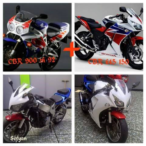 modifikasi cbr900rr