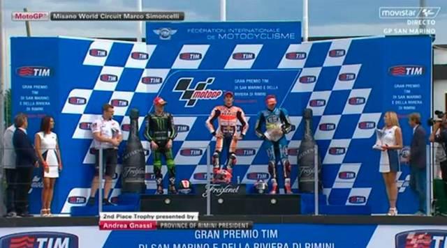 podium motogp misano 2015