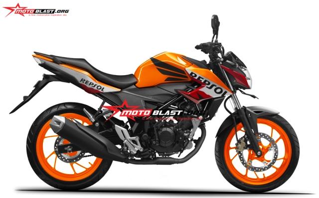 all new Honda CB150r repsol