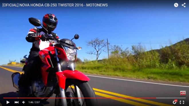 cb twister 250cc