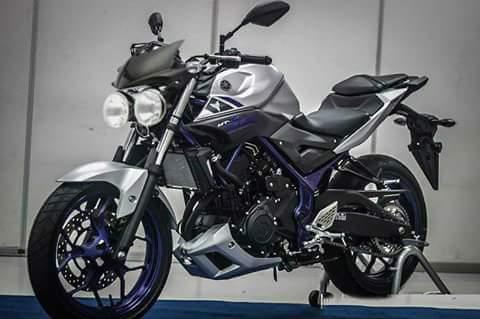 Modifikasi Yamaha Mt25 Sumpah Q