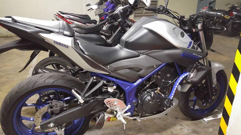 Modifikasi Yamaha Mt 25 Dunia Otomotif 2019