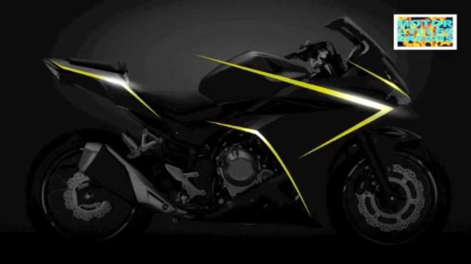 new Honda CBR500R 2016