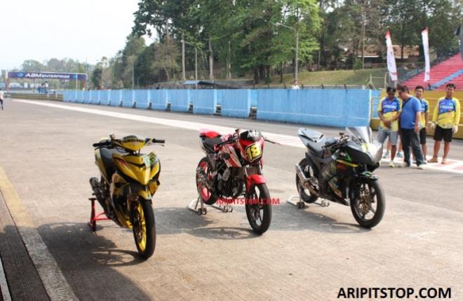 podium irrc sentul race 1