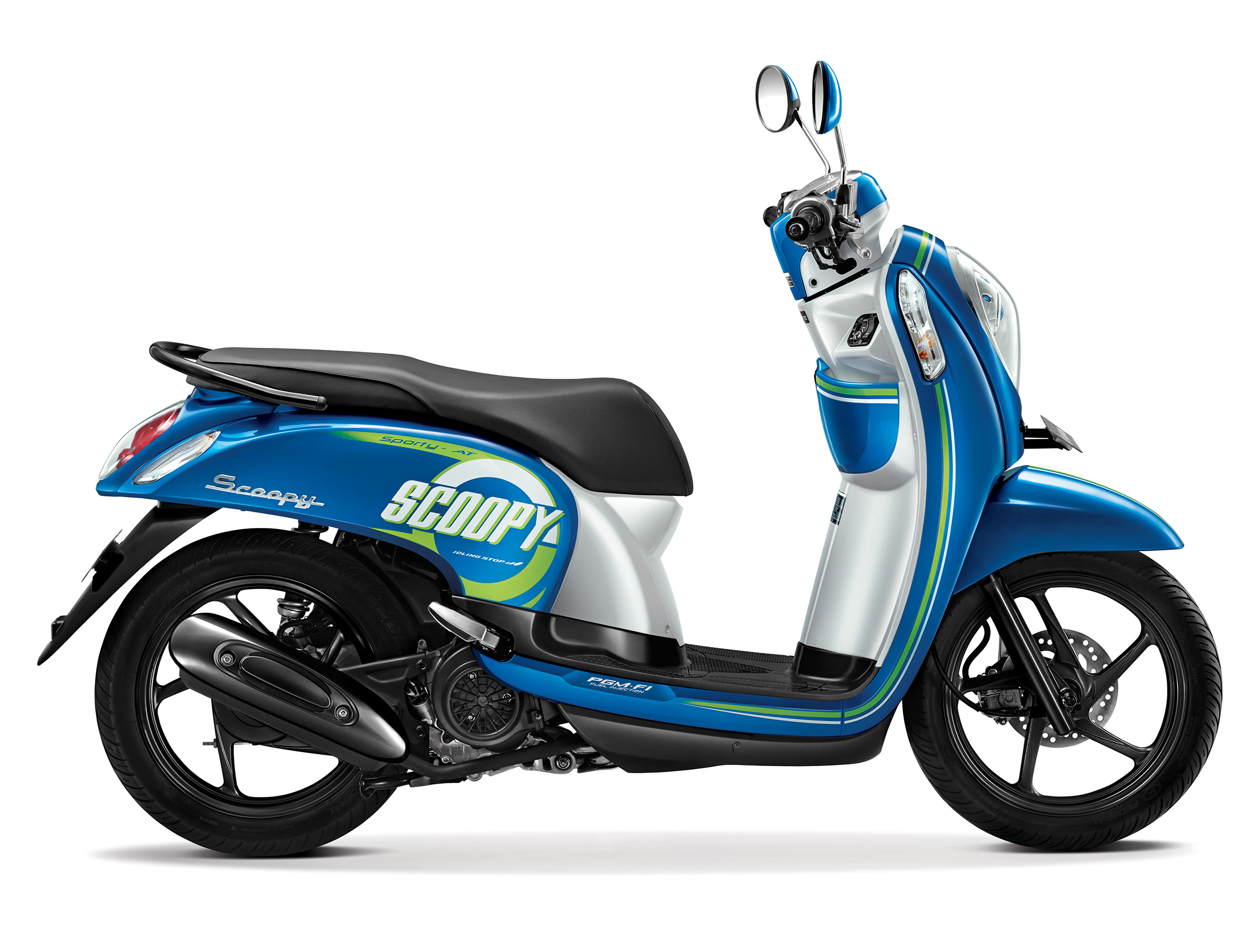 81 Modifikasi Scoopy Fi Warna Putih Kumpulan Modifikasi Motor