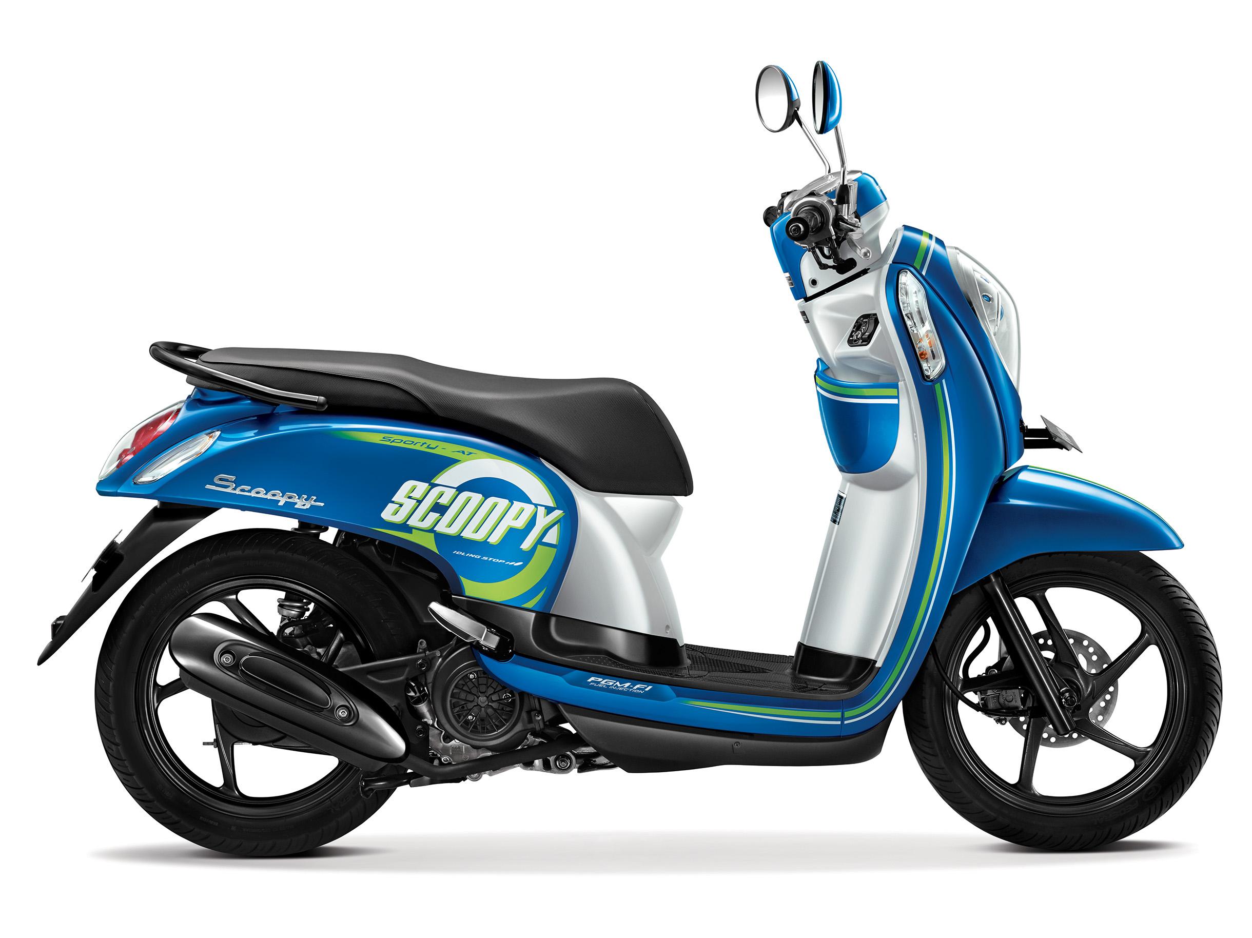Warna Baru Honda Scoopy Fi 2016 Urban Blue Dan Vogue Red Harga