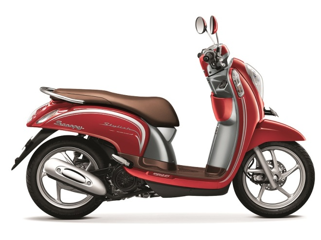 Scoopy eSP Stylish Vogue Red - Copy