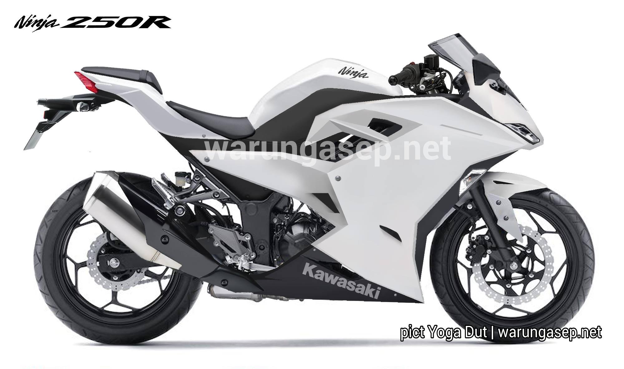 Kawasaki Ninja 250r Atau Zx 25r Seperti Inikah Gambar Jelasnya