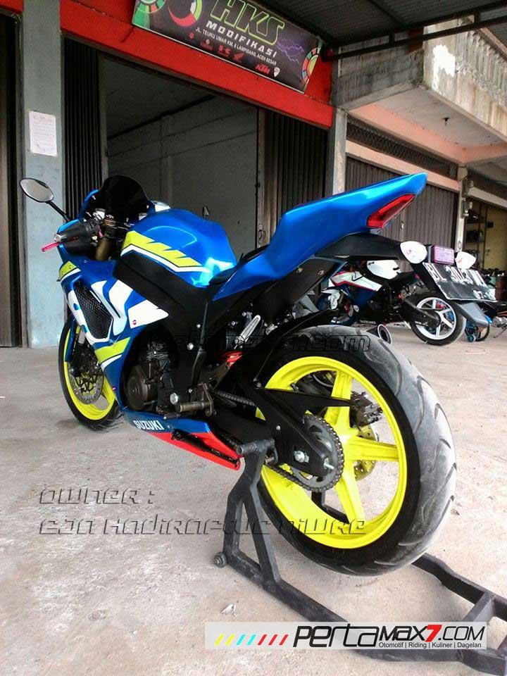 Suzuki Fxr  Modifikasi