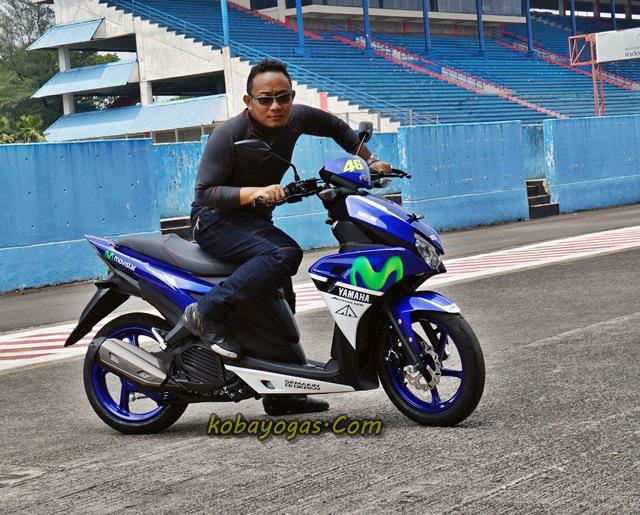 Yamaha Aerox ditunggangi FBH :D