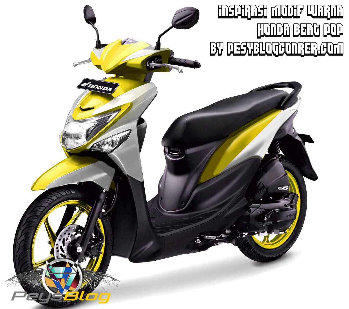 108 Modifikasi Beat Esp Simple Modifikasi Motor Beat Terbaru