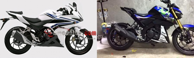 cbr facelift vs mt15