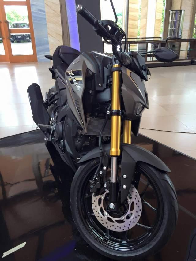 Tampak depan Yamaha Xabre