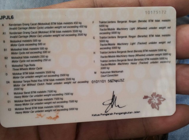 tingkatan SIM di Malaysia