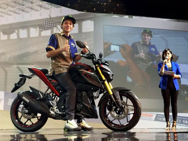 Rossi merilis Yamaha Xabre 150