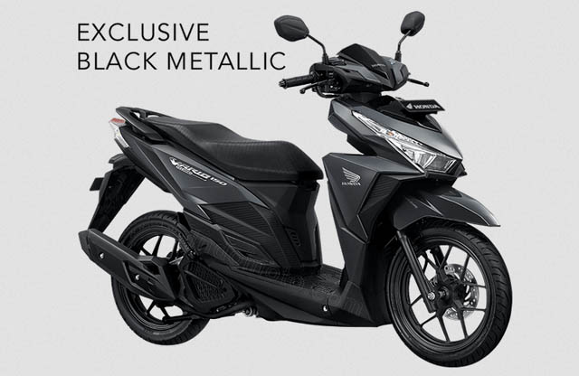 black metalic vario 150