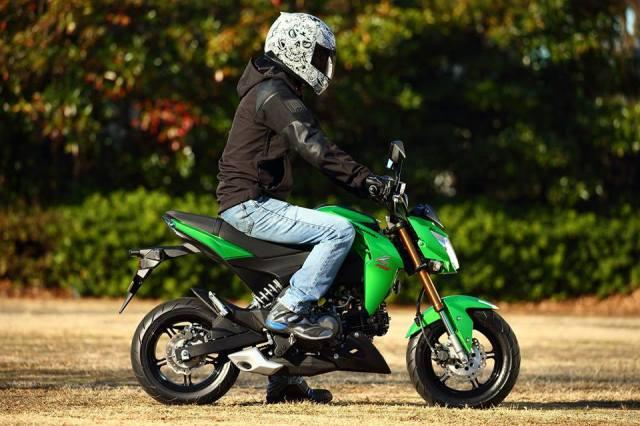 ergonomi riding z125