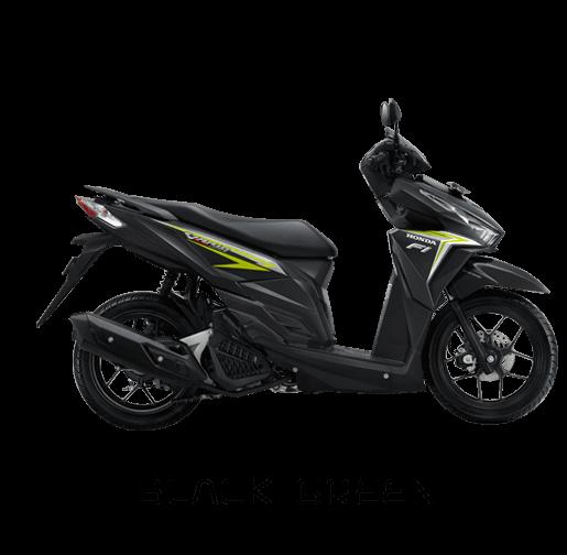 vario 125 black green