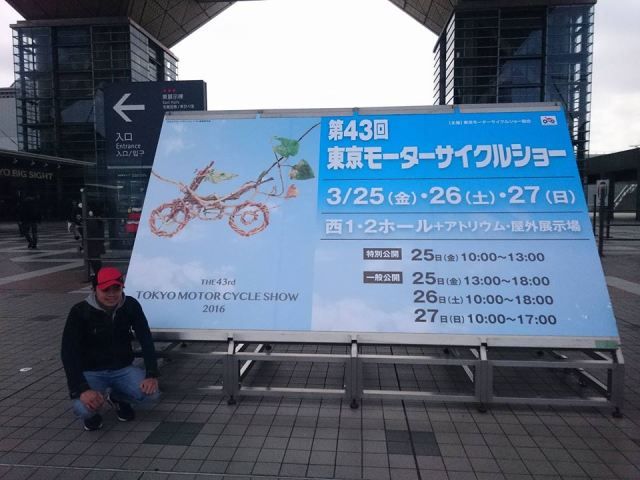 kang adi di tokyo motorcycle show 2016