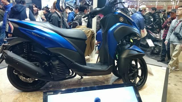 Yamaha Tricity 155cc di Tokyo Motorcycle Show 2016
