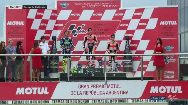rossi podium gp argentina